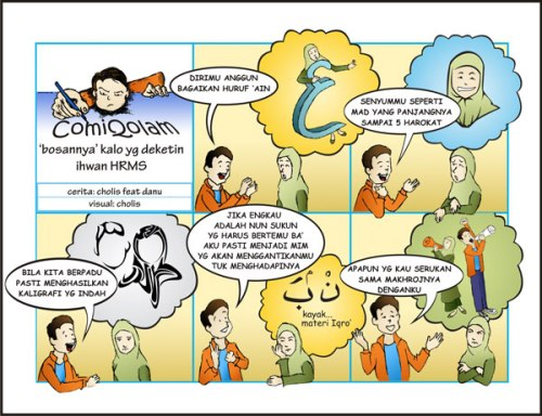 komik strip buletin al-qolam hrms
