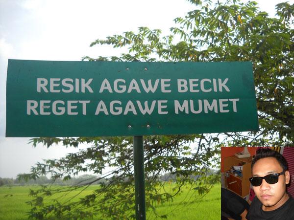 Resik Agawe Becik Reget Agawe Mumet Let It Be