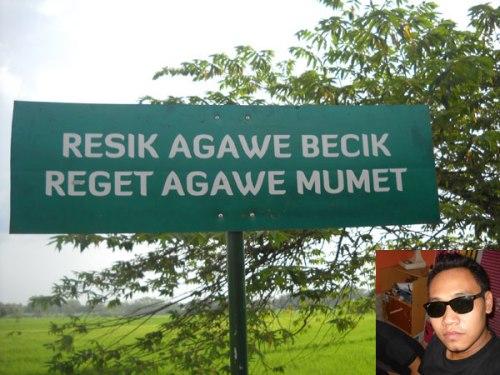 slogan paREsik Nur Sugiyanto