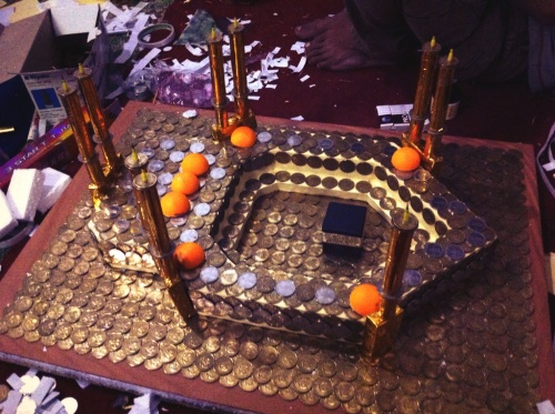minatur-masjidil haram-uang logam